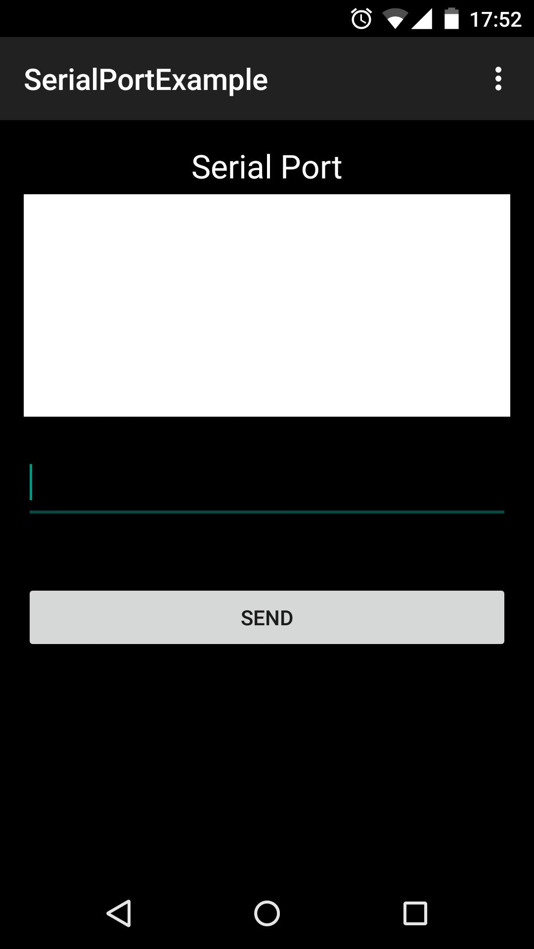 Android COM port | felhr85